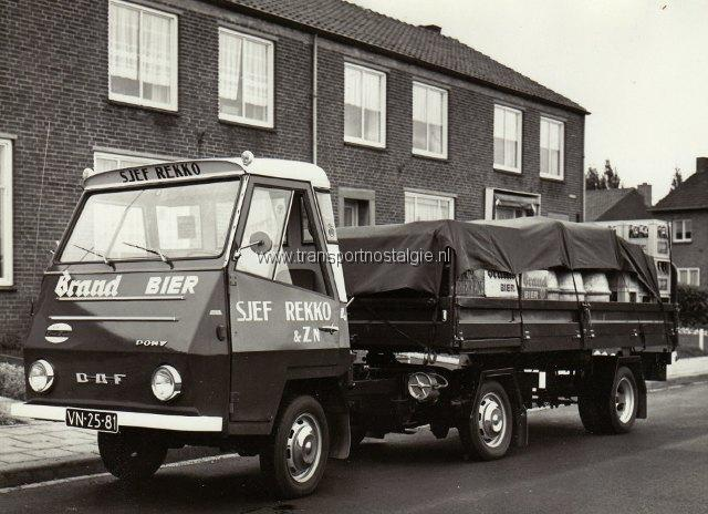 1968 DAF Pony Dranktransport