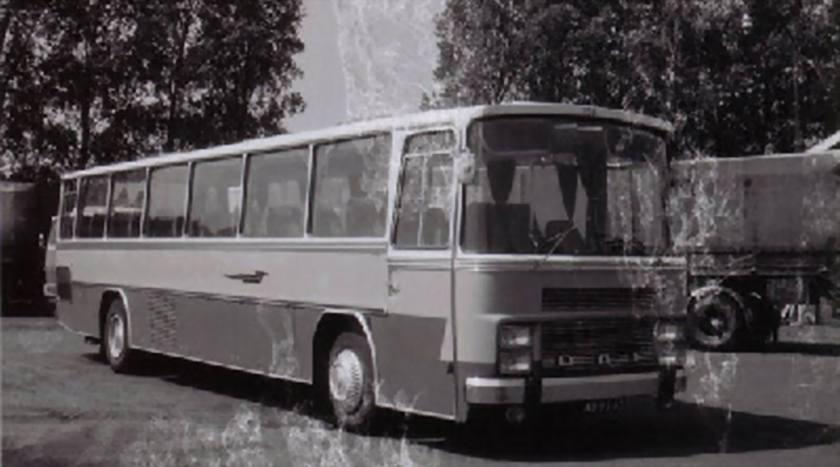 1968 DAF SB1600 DS 605 DAF carr Van Hool