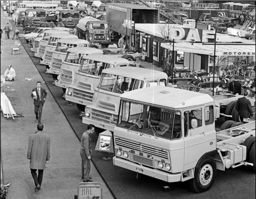 1968 DAF stand RAI
