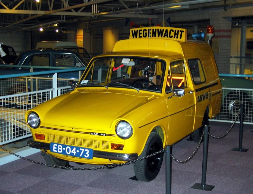 1970 DAF 33 Bestel Wegenwacht EB-04-73