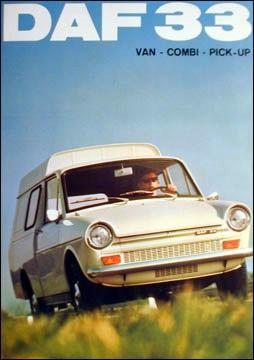 1970 DAF 33van