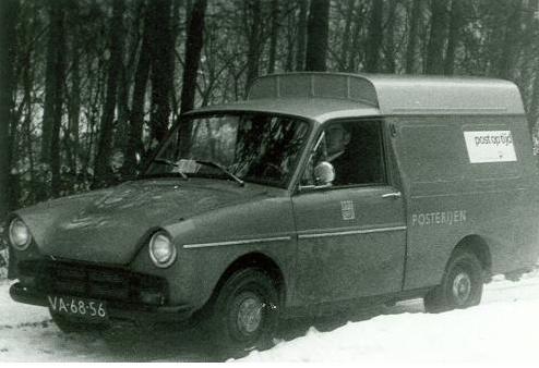 1972 Daf 750 bestel PTT