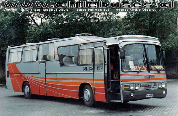 1981 Irizar Magirus Deutz Buses Pullman Bus Lad Chili