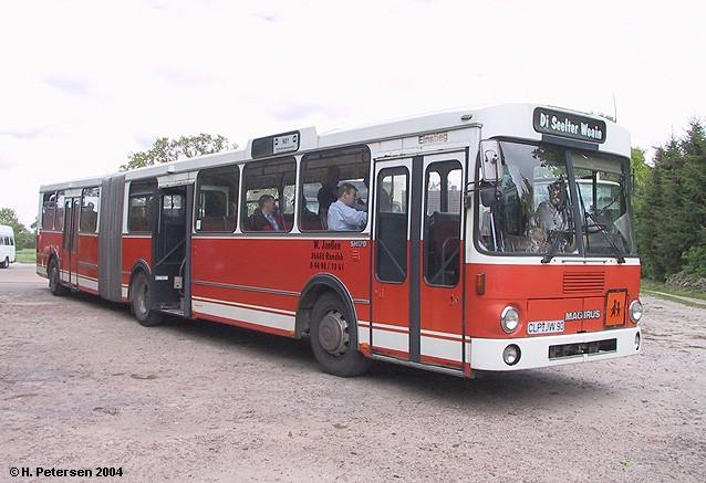 1982 Magirus 260 SH 170 Gelenkbus ex Regionalverkehr Münsterland RVM xi
