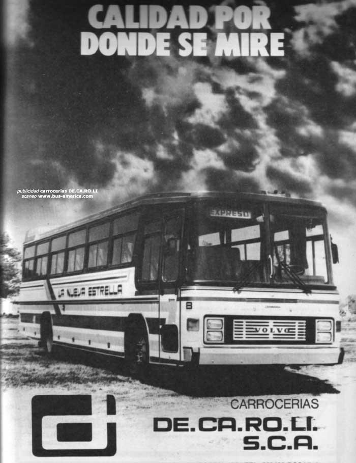1982 Volvo - DE.CA.RO.LI - La Nueva Estrella