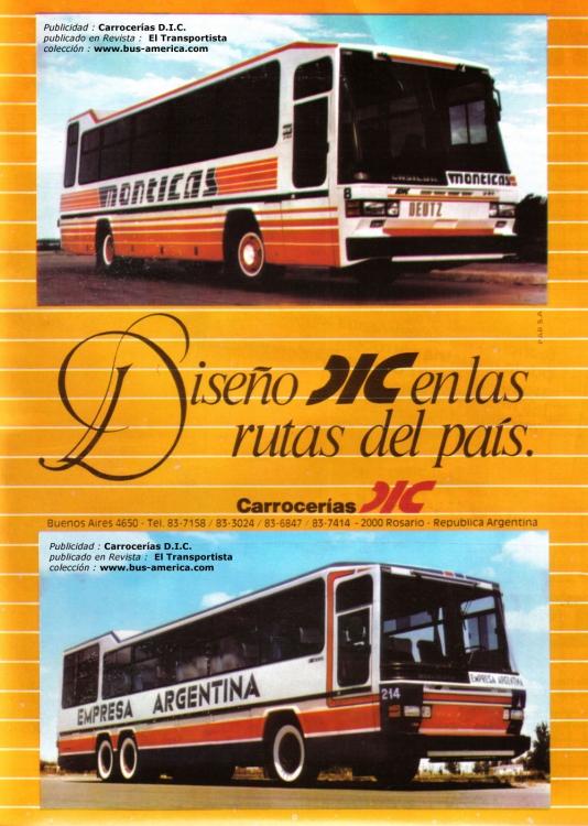 1984 Deutz - D.I.C. LD 1014 Special - Monticas & Emp.Argentina