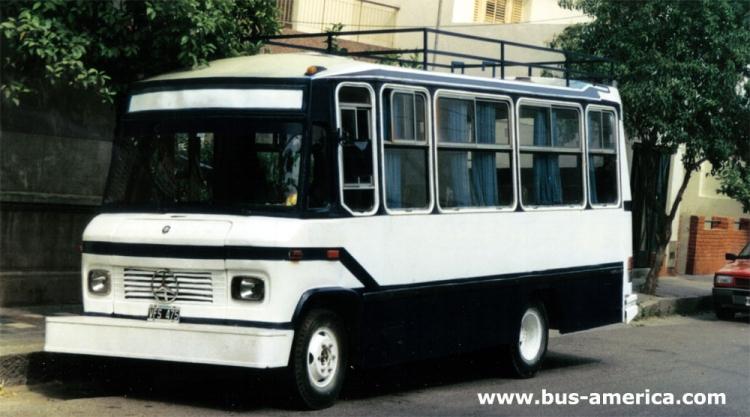 1984 Mercedes-Benz LO 608 D - DE.CA.RO.LI.