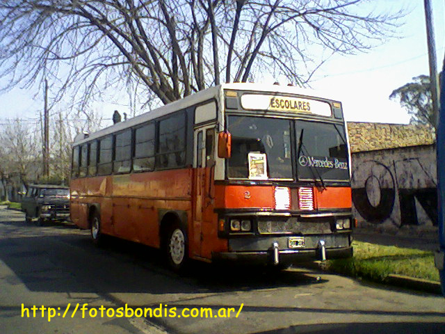 1984 Mercedes Benz OF 1214 DIC UMD Transporte ESCOLAR