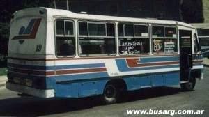 1988 Decaroli Mercedes Benz 1114 que estuvo presente en las líneas 102 y 125 de Rosario