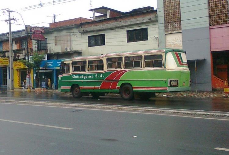 1988 Mercedes-Benz LO 1114 frontalizado - DE.CA.RO.LI. (reformado en Paraguay) - Quiindyense S.A.