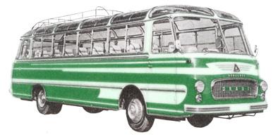 20 1958 Drauz DR 43 Henschel 522 DP 6cyl 6126 cc