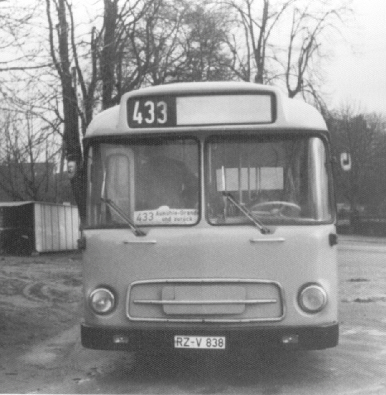 Buses MAGIRUS DEUTZ Germany
