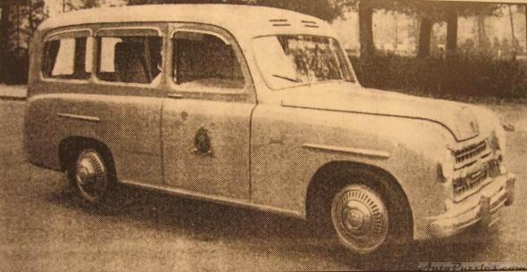 22 Bartoletti Fiat1400 ambulanza 1952