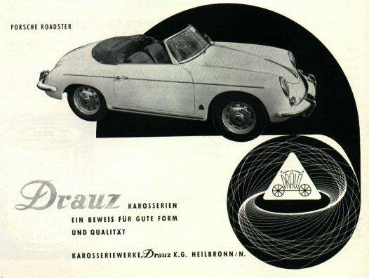 23 Drauz Porsche 356