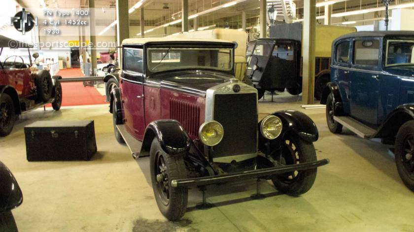 28 1930 fn type 1400 4cyl 1452cc