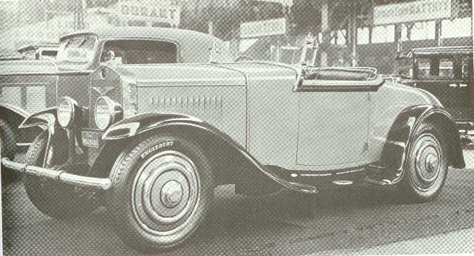 29 1930-1935 FN. Type 1800 Sport (11CV), 4-cyl. 1766cc