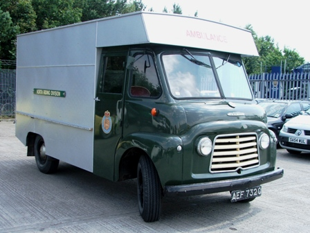 31 Classic Commer Ambulance at Manheim