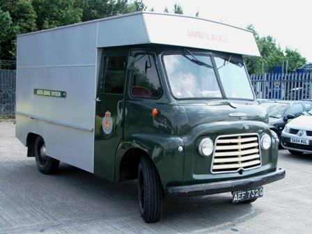 31 Classic Commer Ambulance at Manheim
