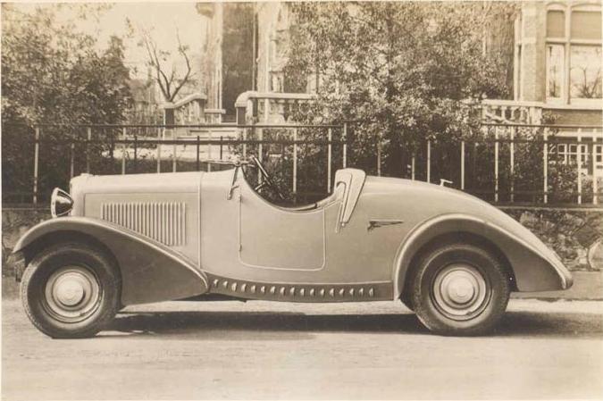 34 1935 FN Roadster V