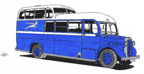 35 1947 SARRMS Commer Commando used on SA Airways services