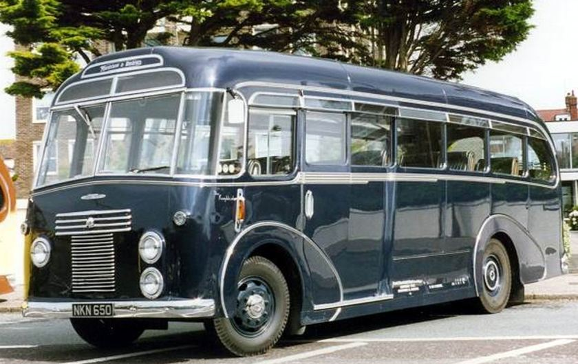 38 1950 Bussen Commer Avenger 1, fitted with a Harrington C16F body 1950