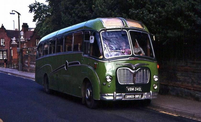 39 Bussen Commer - Duple