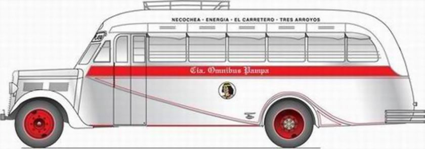 43 Bussen Commer carrozados por Gerónimo Gnecco a