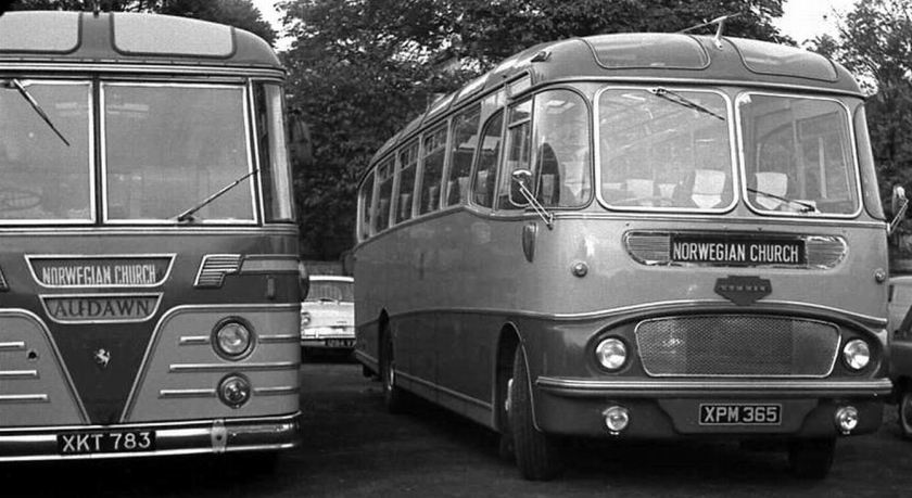 47 1962 Bussen Commer Avenger IV with Harrington Crusader C41F body 1962