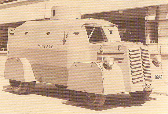 54 Commer' truck-based armoured car, 1950s