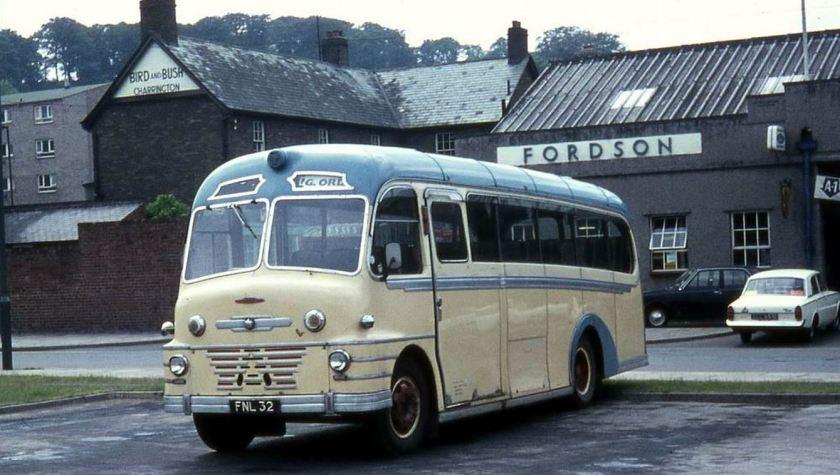 55 1952 Bussen Commer Avenger built in 1952 with Plaxton Envoy bodywork
