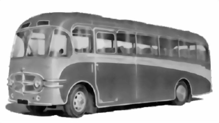 56 1954 Bussen Commer Avenger bus, available with TS4 power in 1954