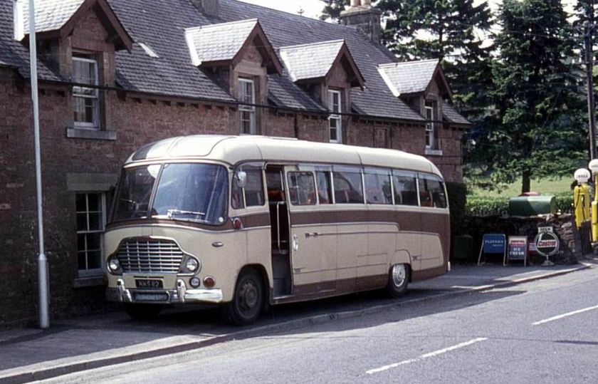 57 1959 Bussen Commer Avenger IV built in 1959 with Duple Vega C41F bodywork.