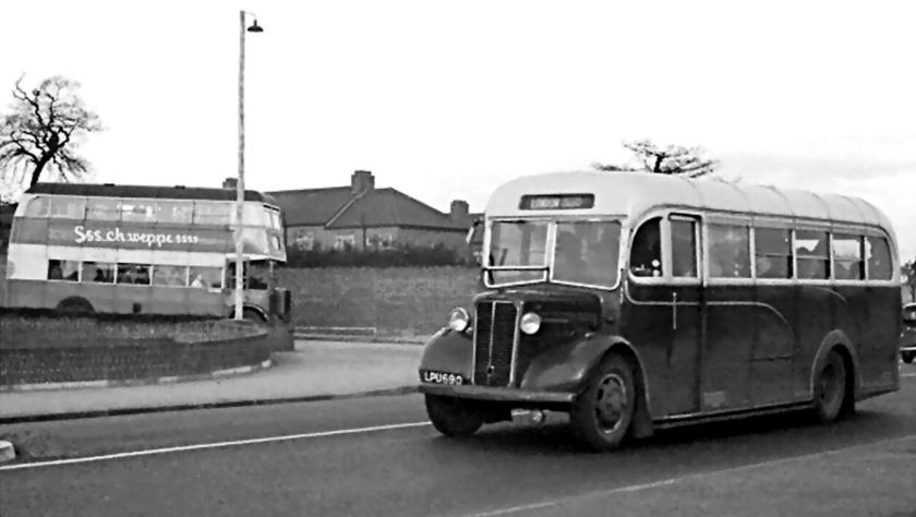 67 1947 Bussen Commer Commando with Perkins P6 engine and Heaver B33F body new in February 1948, one of a batch of 7 new in 1947