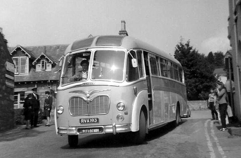 68 1955 Bussen Commer Avenger TS3 with Duple Corinthian (Vega) C41F body of 1955