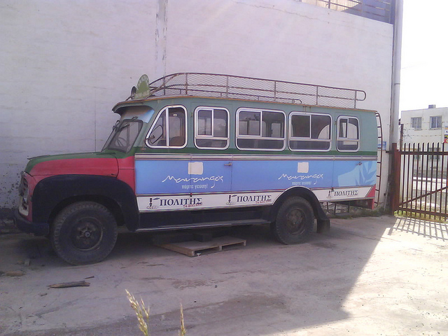 71 Commer bus in Cyprus