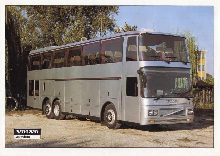 VOLVO B10M 6X2 BARBI