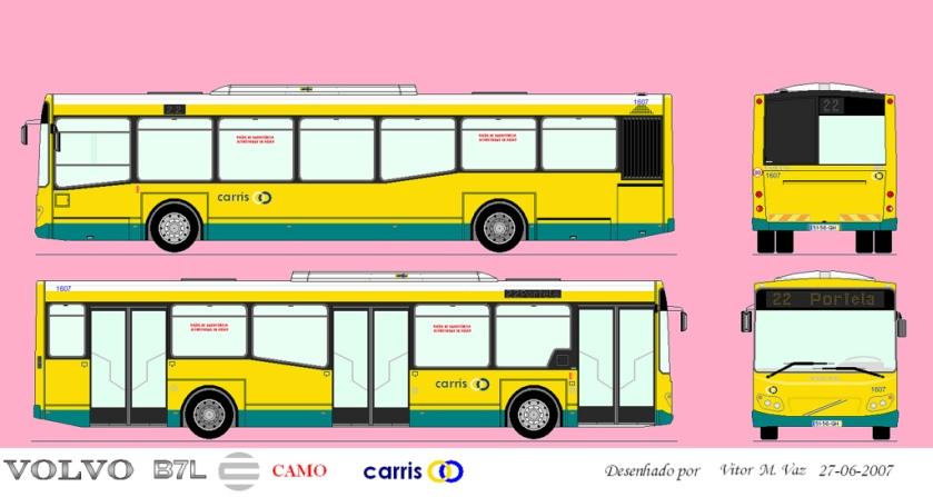 Volvo B7L CAMO