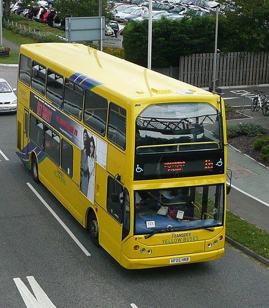 000e Millenium Vyking Transdev Yellow Buses