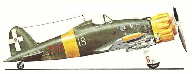 04 Macchi C.200 Saetta (XXIII serie SAI Ambrosini MM.8597)