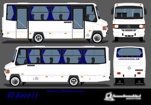 13a 1997 Diseño en Blanco - LR Bus o Carrocerias LR LO 814 97