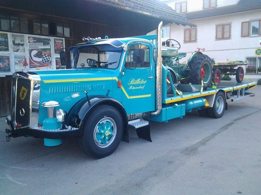 152 FBW Oldtimer- und Baumaschinentaxi