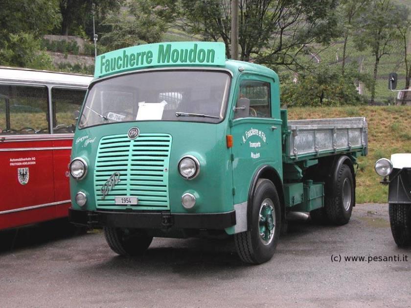 156 FBW L50 4x2 de 1954
