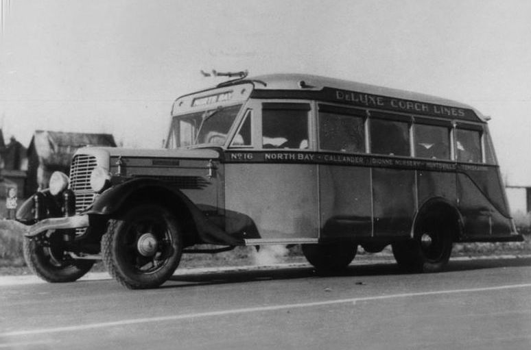 1934 Diamond T North Bay to Huntsville, Ontario
