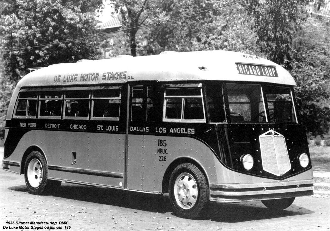 Buses Dittmar Chicago Illinois Usa Myn Transport Blog
