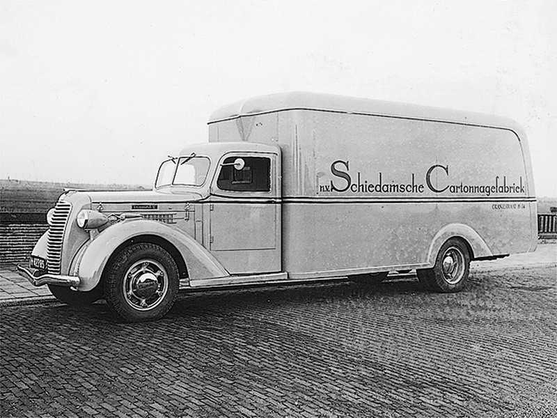 1938 DIAMOND Schiedamsche Cartonage fabriek