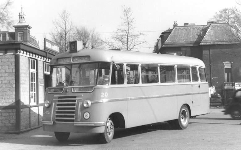 1948 chassis ex-bus 36=20 Domburg (zelfde model carrosserie als 2 & 3) 1948-020