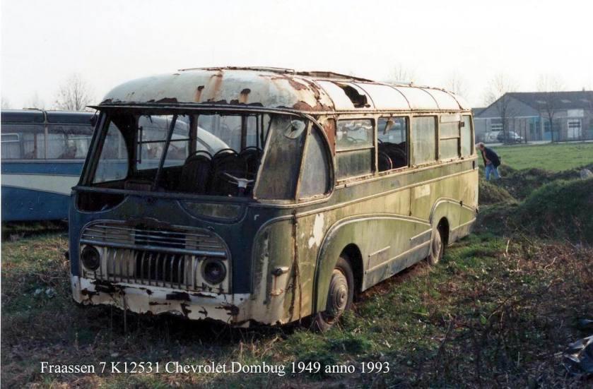 1949 Domburg K-12531 Chevrolet carr. Domburg anno 1993