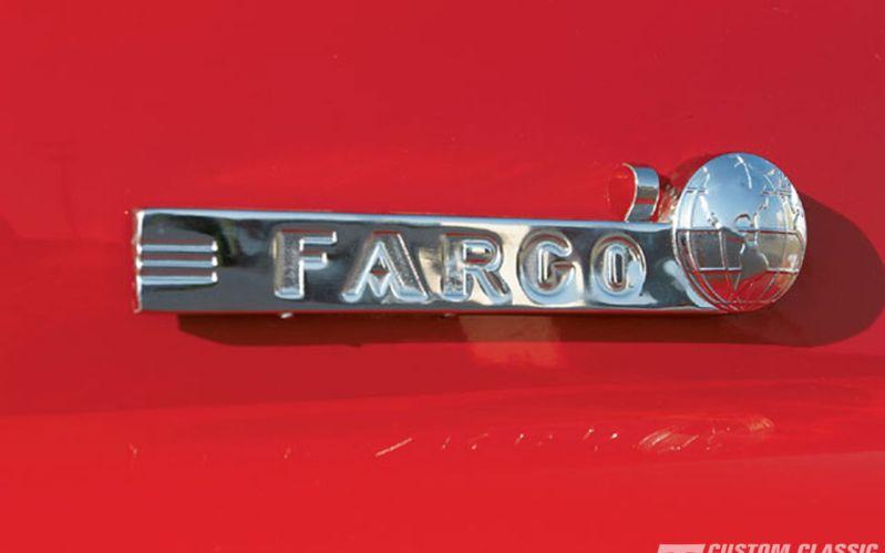 1950 Chrysler Fargo Logo