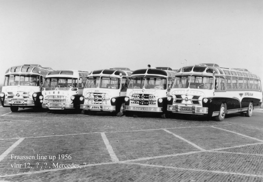 1952-56 Domburg NB-90-72 Volvo NB-15-41 PB-47-85 RB-56-41 Mercedes-Benz Domburg RB-07-07 Volvo B65506