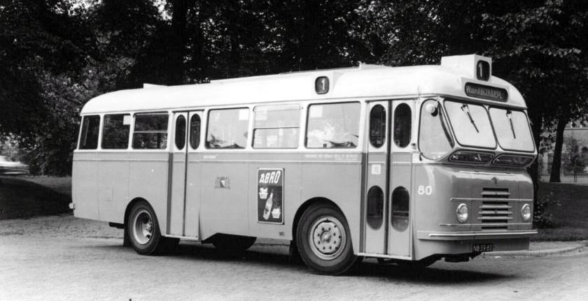 1952 DAF carrosserie Domburg NB-39-80